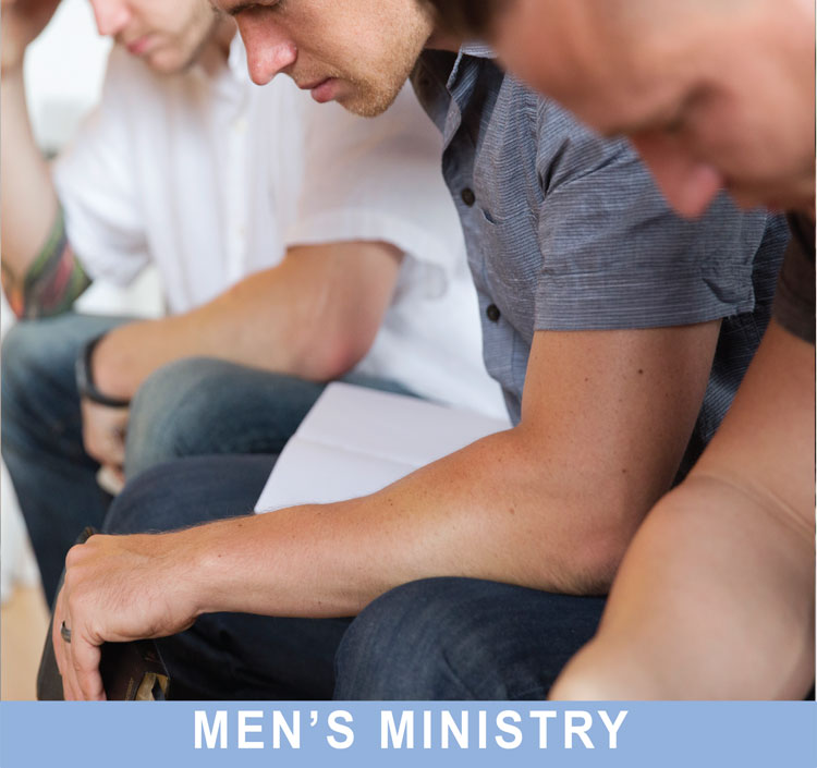 Men praying together